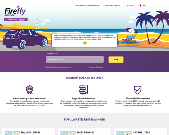 Firefly Car Rental Logo